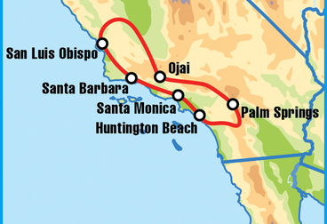 Santa Monica Motorcycle Tour