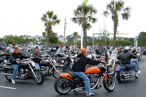 Myrtle Beach Bike Week® Fall Rally Motorcycle Rental