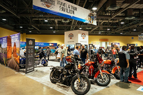 Progressive® International Motorcycle Shows® Motorcykeluthyrning