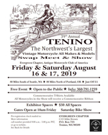 Tenino Antique Motorcycle Swap Meet & Show Motorcycle Rental