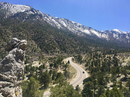 Mount Charleston Ride Motorcycle Rental