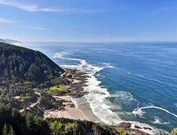 Farmland, Beaches and Mountains Tour Motorcycle Rental