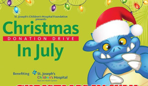 Christmas in July Toy Run Aluguel de Moto