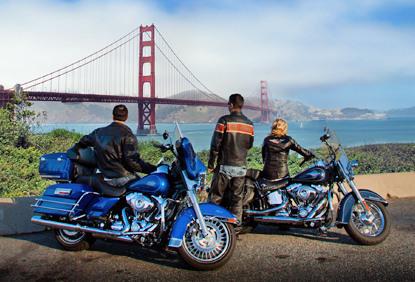San Francisco 摩托车租赁