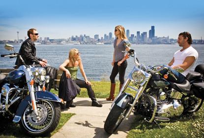 Seattle 摩托车租赁