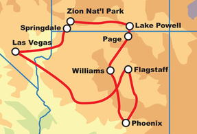 Arizona Motorcycle Tour