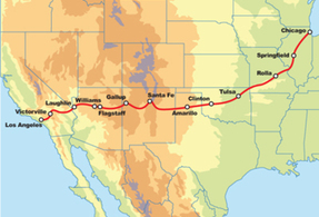 Route 66 Chicago to Los Angeles Bike + Hotel Package