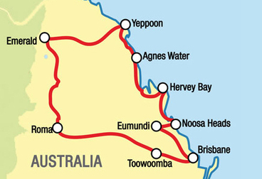 Capricorn Coast Motorcycle Tour