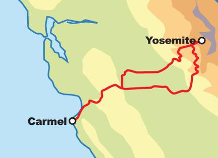 Tour Map