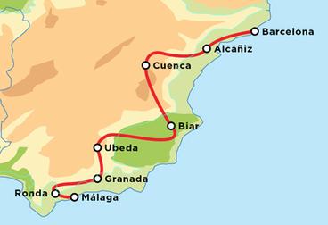 Small Batch Classic Spanish Tour