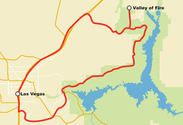 Fifth Annual AWS re:Invent Harley Ride - Valley of Fire - Nov 25th
