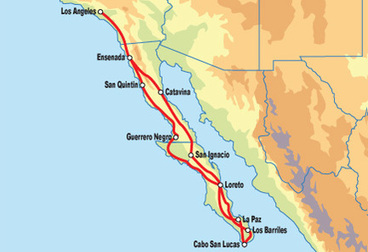Baja California Motorcycle Tour