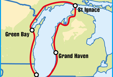 Great Lakes Motorcycle Tour