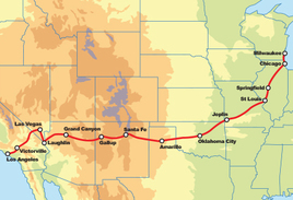 115th Anniversary Route 66 - 19 Day Tour