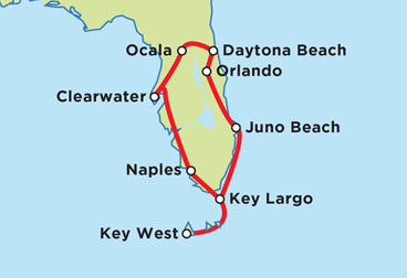 Florida Keys Tour 12-Day