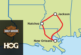 HOG Touring Rally - Blues Trail of Honor Tour - Unescorted