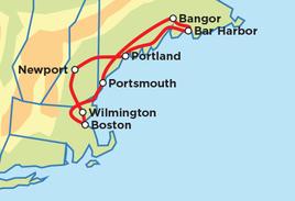 Boston – New England Explorer
