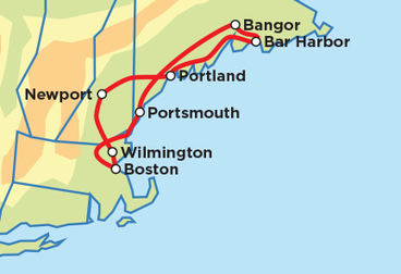 Boston – New England Explorer