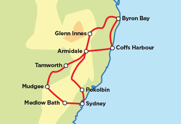 Sydney Select - Thunderbolts and Coastline Guidati Motorcycle Tour