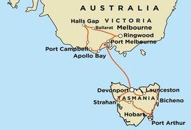 Great Ocean Road and Tasmania
