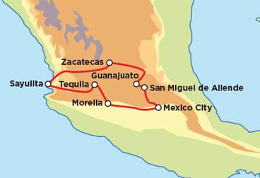 The Splendor of Mexico Con Guia Motorcycle Tour