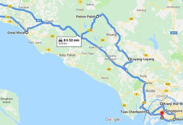 Historical Malacca Guided Motorcycle Tour