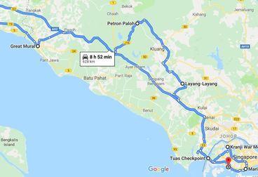 Historical Malacca 团队游 Motorcycle Tour