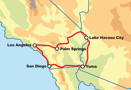 Southern California Motorcycle Tour